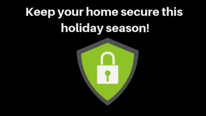 Holiday Home Security Tips