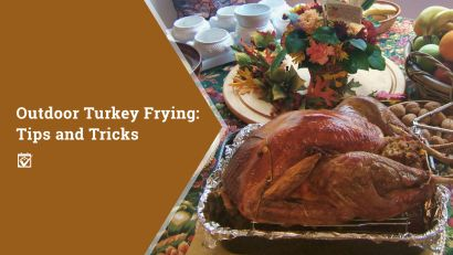 Frying Your Turkey? Check out these tips.