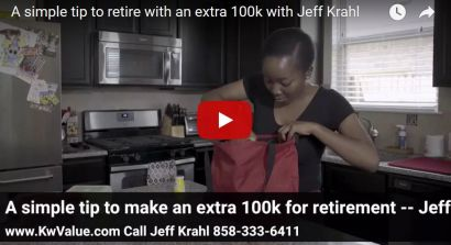 A simple tip to retire with an extra 100k with Jeff Krahl