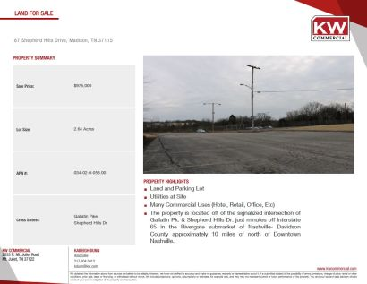 2.64 Acres Commercial Land