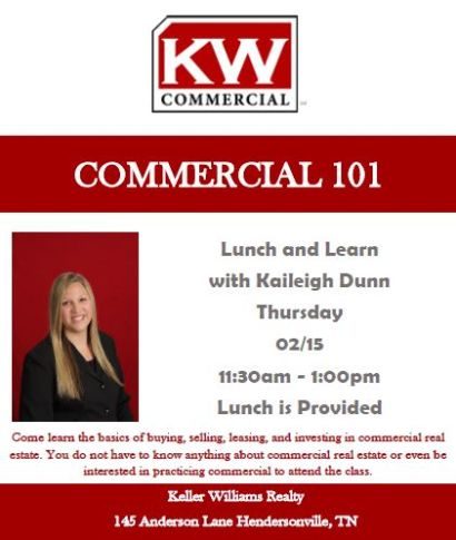 Commercial Real Estate – Lunch and Learn