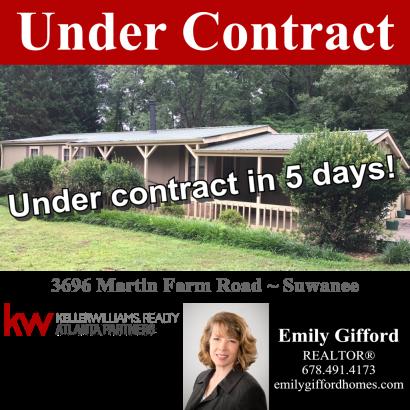 Under Contract in Suwanee