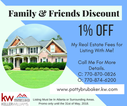 Family and Friends Discount