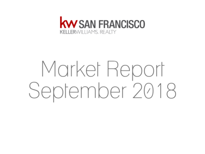 Real Estate Market Update: September 2018