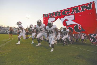 Morgan falls 39-0 in Region opener
