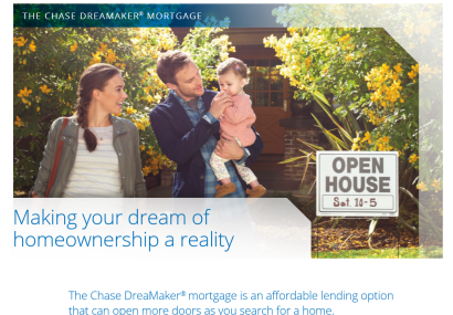 Great New Product from Chase for 1st time buyers: Check this out!