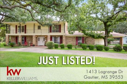 JUST LISTED! 4bd 3ba in Gautier