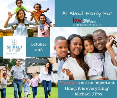 October is All About Family Month at Shimala Group
