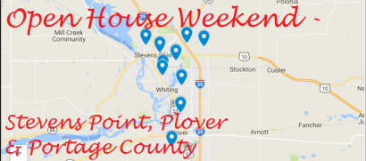 Open House Weekend, Stevens Point, Plover & Central Wisconsin 3-10-18