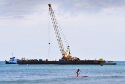 More man-made reef splashes down in Brevard