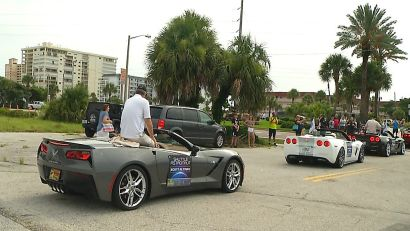 Cocoa Beach crowds cheer astronauts at parade on eve of Apollo 11 anniversary