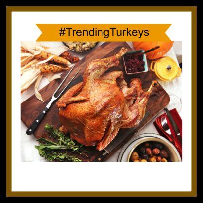 #TRENDING TURKEYS! We're having fun in November!