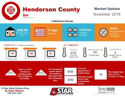 Henderson County November Snapshot