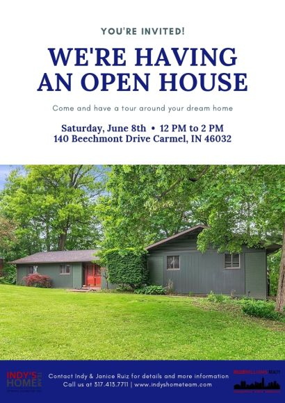 OPEN HOUSE | SATURDAY, June 8th from 12-2 PM! – 140 Beechmont Dr