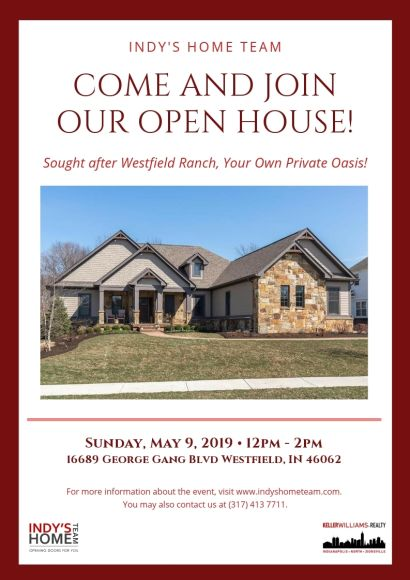 OPEN HOUSE | SUNDAY, June 9th from 12-2 PM! – 16689 George Gang Blvd