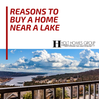 Reasons to Buy a Home Near a Lake