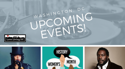 Washington, DC Weekend Event Guide: March 15-17, 2019