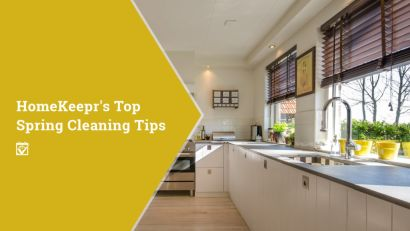 HomeKeepr's Top Spring Cleaning Tips