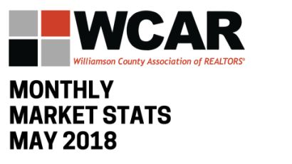 Market Stats May 2018 – Williamson County