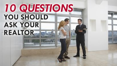 10 Questions To Ask Your Realtor About Selling A House