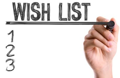 Creating Your Home Wish List