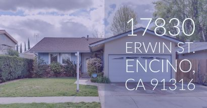 Just Listed 17830 Erwin St. Encino Ca. 91316