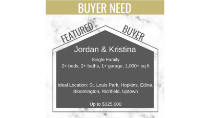 Buyers Needs – April 2019
