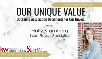 Our Unique Value – Assisting Buyers with Association Documents