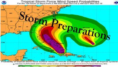 Storm Preparations