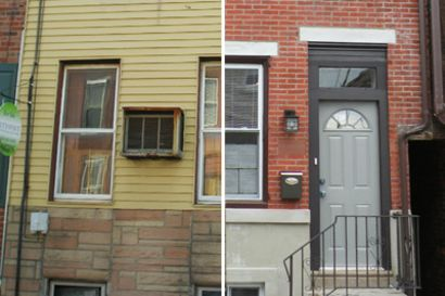 Case Study: A Philly Flip's Exterior gets a Modern Facelift
