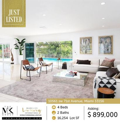 Just Listed! Beautiful remodeled house for sale in Prime Pinecrest area!