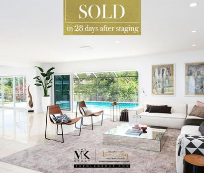 Thanks to staging and first class marketing, this beautiful house sells in less than 1 month!