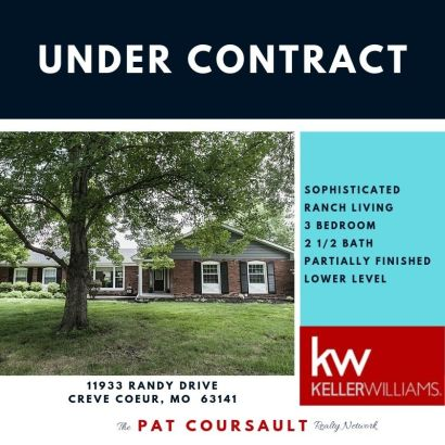 Under Contract…11933 Randy Drive, 63141