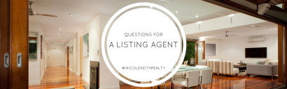 5 Questions to Ask Your Listing Agent