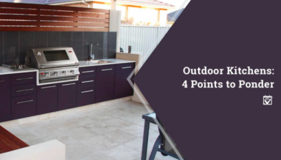 Outdoor Kitchens 4 points to ponder