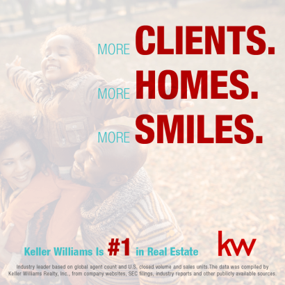 Keller Williams is #1