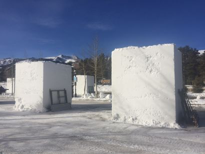 Breck Ice Sculpture winner!