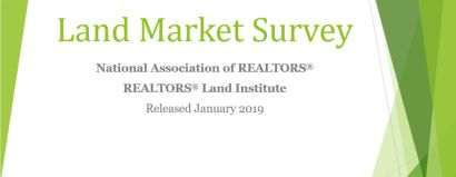 Top Four Takeaways from The 2018 Land Market Survey