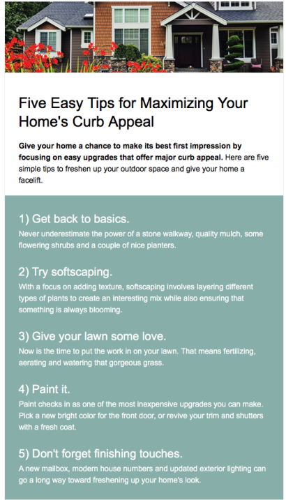 5 Easy Tips for Maximizing Your Home's Curb Appeal