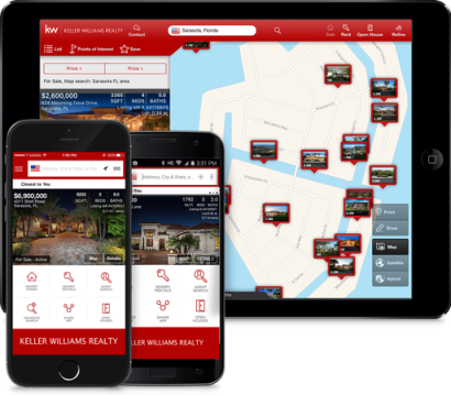Easiest way to find your dream homes!