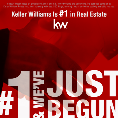 Keller Williams Is Now the #1 Real Estate Franchise in the US!