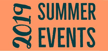 2019 Summer Events Calendar