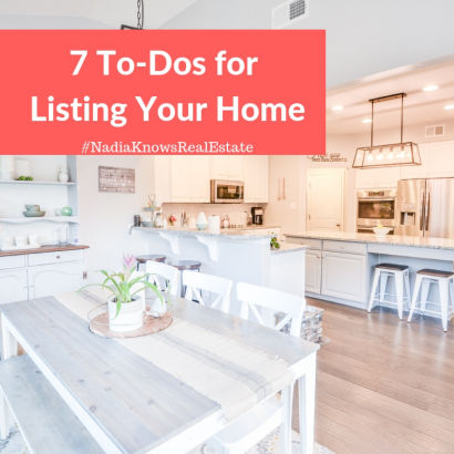 7 Things to Do Before Putting your House on the Market