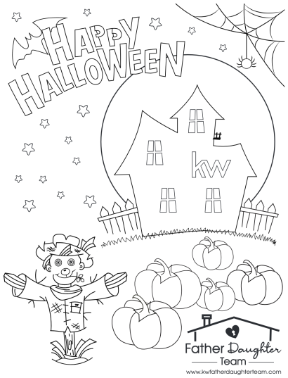 Halloween Coloring Contest 2019!