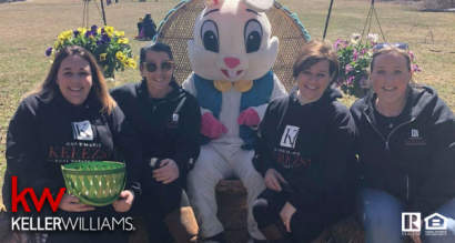 Kerezsi Real Estate Team 3rd Annual Easter Egg Hunt