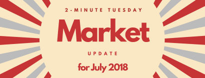 2-Minute Tuesday – Pensacola Real Estate Market Update July 2018