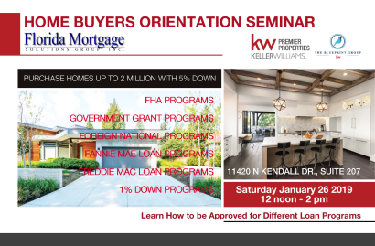 Miami Home Buyer Seminar
