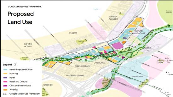 Google submits formal campus plan to San Jose