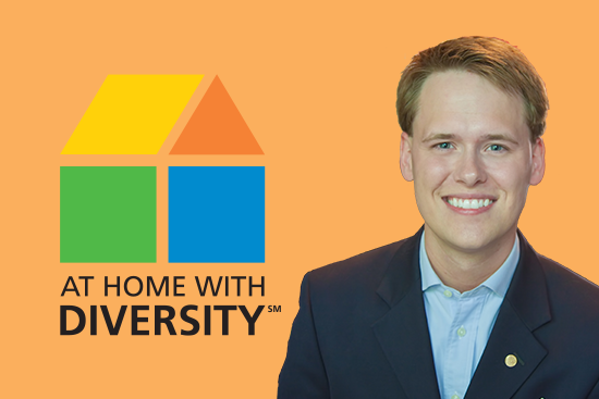 "Tyler Kristopeit is ""At Home with Diversity"""