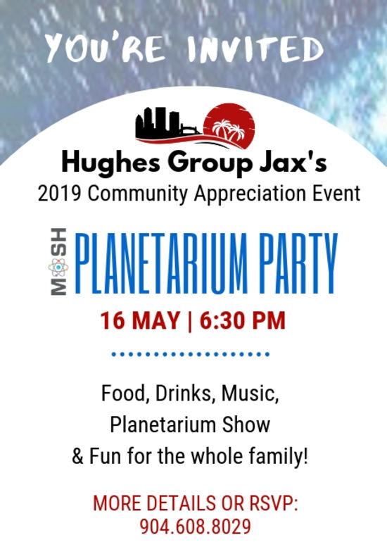 Private Planetarium Party!